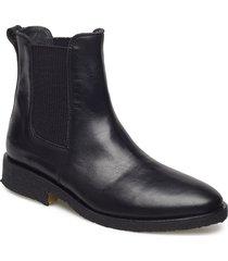booties - flat - with elastic känga stövel svart angulus