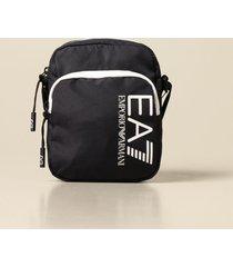 ea7 shoulder bag ea7 canvas bag with logo