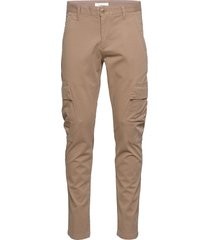 joe trekking pant - gots/vegan trousers cargo pants beige knowledge cotton apparel