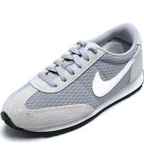 tenis gris-blanco nike oceania textile