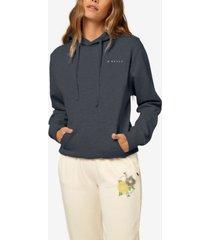 livie pullover fleece women's hoodie