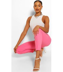 pink premium skinny stretch denim jeans, pink
