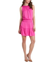 1.state smocked-waist sleeveless dress