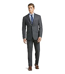 1905 collection tailored fit sharkskin men's suit clearance by jos. a. bank