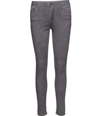 catwoman grey paisley skinny jeans grå please jeans