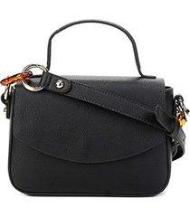 bolsa loucos & santos mini bag elos tartaruga feminina