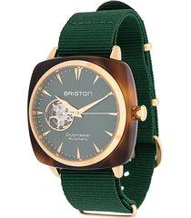briston watches clubmaster iconic watch - green