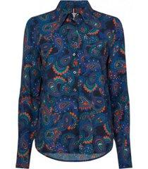 blusa regular angie multicolor tommy hilfiger