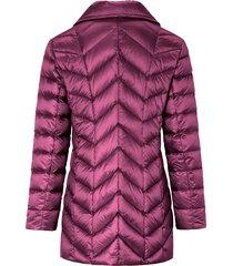gewatteerde donzen jas van basler roze