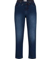 jeans elasticizzati con cinta a costine maite kelly (blu) - bpc bonprix collection