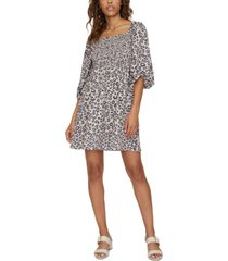 sanctuary marina smocked mini dress