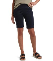 utopia by hue denim bermuda shorts, online only