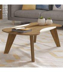 mesa de centro nicole pinho/off white - artely
