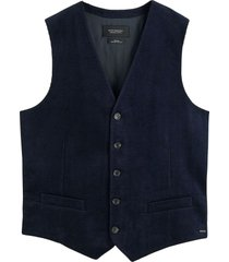 scotch & soda classic corduroy gilet night
