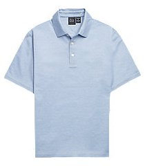 traveler performance traditional fit short sleeve men's polo - big & tall