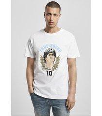 t-shirt korte mouw urban classics true legends nummer 10 t-shirt (mt1602)