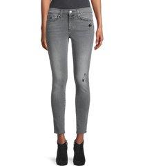 joe's jeans women's mid-rise skinny ankle jeans - vestal - size 32 (10-12)