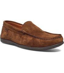 plain driving loafer sde loafers låga skor brun marstrand
