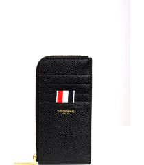 thom browne black wallet