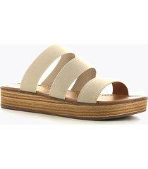 sandalia elastico baja  beige perugia 33202el-be
