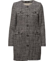 audrey coat tunn rock grå morris lady