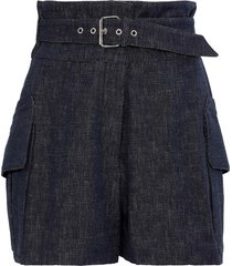 derek lam denim shorts