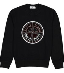 center logo cotton sweatshirt