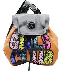 mochila suela buda girls club