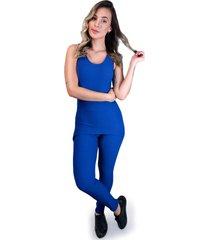macacã£o mvb modas longo saia tapa bumbum tecido bolha azul - azul - feminino - poliã©ster - dafiti