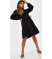 pieces pccamilla ls wrap dress d2d loose fit dresses