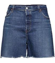 pl 501 original short salsa ch shorts denim shorts blå levi's plus