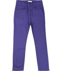pantalon - gabardina nautical azulino ficcus
