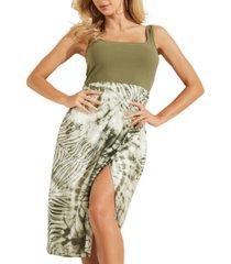 guess sleeveless talia dress
