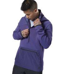 sweater reebok sport ts thermowarm cntrl hood