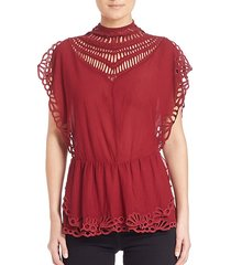 jala cutout blouse