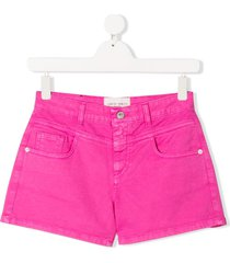 alberta ferretti kids teen hot pants - pink