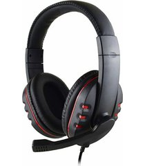gaming headset 3.5mm micrófono cable audífonos ps4 laptop xbox one