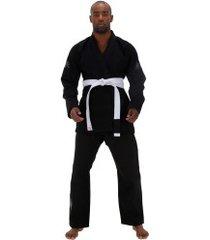 kimono jiu-jitsu keiko balance - adulto - preto