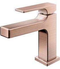 torneira para banheiro mesa bica baixa edge cobre escovado - 00848969 - docol - docol