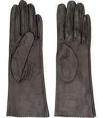 manokhi slip on gloves - black