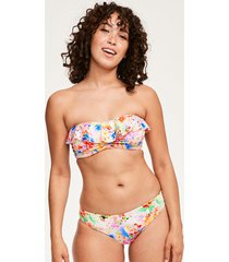 endless summer underwire padded bandeau bikini top