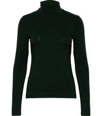 d2. turtleneck jersey ls t-shirts & tops long-sleeved groen gant