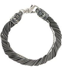 emanuele bicocchi multi string bracelet - metallic