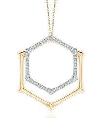 natori indochine multi-wear pendant necklace, women's, gold natori