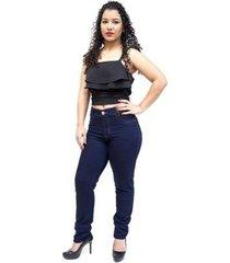 calça jeans cambos skinny vallete feminina