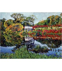 "david lloyd glover a still lake canvas art - 20"" x 25"""