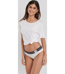 calvin klein bikini coordinate cotton panties - white