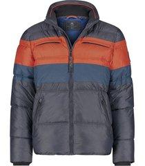 winterjas new zealand twin peaks navy oranje