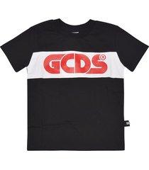 gcds logo print short sleeve t-shirt
