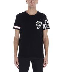 alexander mcqueen motorcycle skull t-shirt